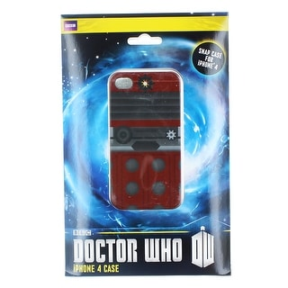 Doctor Who iPhone 4 Hard Snap Case I Am Dalek