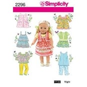 One Size - Simplicity Crafts Doll Clothes