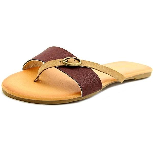 Seven7 Koopie Women Open Toe Synthetic Thong Sandal
