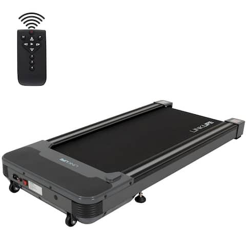 Gamma Under Desk Walking Treadmill, LED & Remote, 0.5-4MPH, 220lb Cap