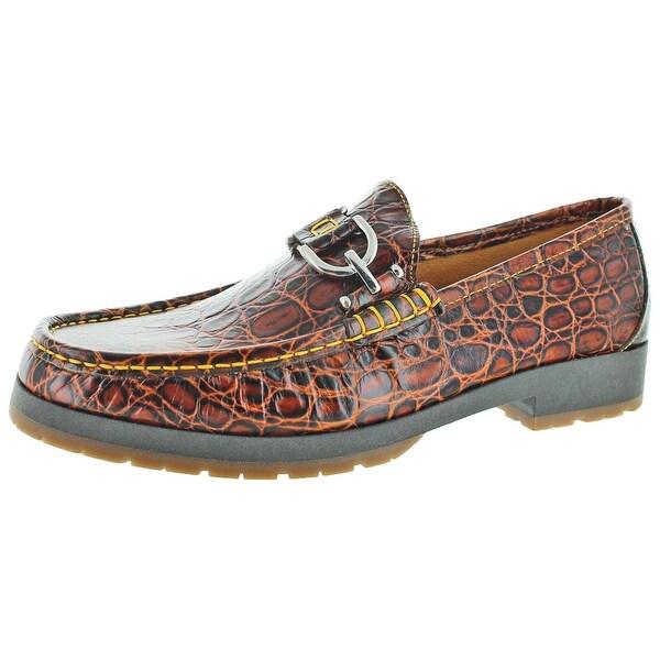 Donald J Pliner Lelio Men's Woven Loafer Dress Shoes