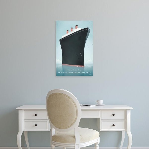 Easy Art Prints Henry Rivers's 'Cruise Ship' Premium Canvas Art