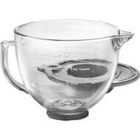 Kitchenaid 5Qt Glass Bowl K5GB Unit: EACH Contains 2 per case