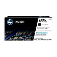 HP 655A Original LaserJet Toner Cartridge - Black (Single Pack) LaserJet Toner Cartridge