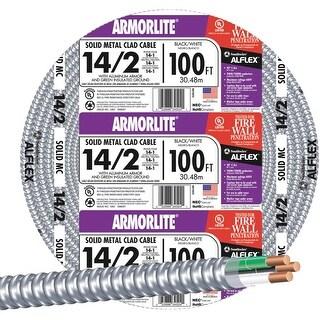 Southwire 100' 14/2 Mc Alum Cable