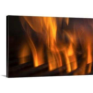 """""""Fire"""" Canvas Wall Art"""