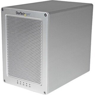 "StarTech S354SMTB2R StarTech.com 4-Bay Thunderbolt 2 Hard Drive Enclosure with RAID - Quad-Bay 3.5"" HDD RAID Enclosure -"