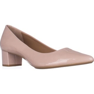 Calvin Klein Genoveva Kitten Heel Dress Pumps, Blush