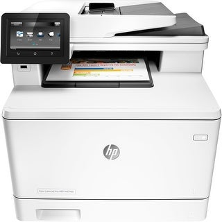 HP LaserJet Pro M477fdn Laser Multifunction Printer - Plain Paper (Refurbished)