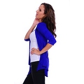 Simply Ravishing Women's Basic 3/4 Sleeve Open Cardigan (Size: Small-5X) - Thumbnail 9