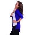 Simply Ravishing Women's Basic 3/4 Sleeve Open Cardigan (Size: Small-5X) - Thumbnail 9