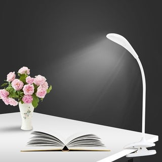 Multi-directional Touch Activated LED Clip-On Desk Lamp With 3 Different Brightness