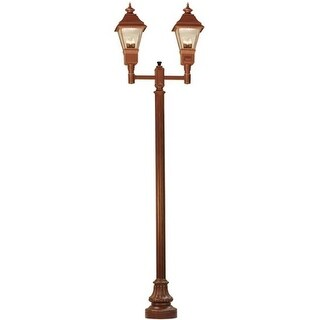 2nd Ave Lighting 6 Light Cheswick Exterior Lanterns - Rustic Bronze