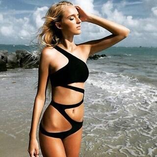 Sexy Women's Swimsuit Swimwear Bathing Monokini Push Up Padded Bikini