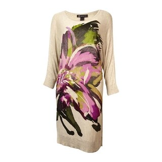 INC International Concepts Women's Dolman Sweater Dress