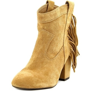 Jessica Simpson Wyoming Women Round Toe Suede Tan Ankle Boot
