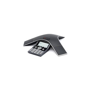 Polycom 2230-40300-001 SoundStation IP 7000 Corded VOIP Conference Phone W/ HD Voice Clarity