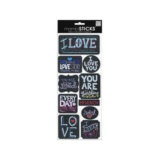 MAMBI Sticks Sayings Chalk Love