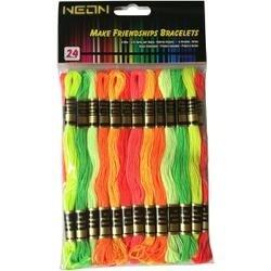 Neon - Craft Thread Pack 8.75yd 24/Pkg