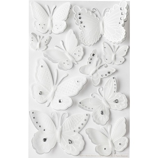 Martha Stewart Stickers-Butterflies
