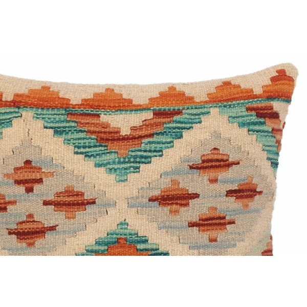 Bohemian Sheila Hand Woven Turkish Kilim Throw Pillow 18 In X 18 In On Sale Overstock 32524680