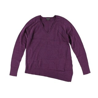 Lilla P Womens Modal V-Neck Pullover Sweater - S