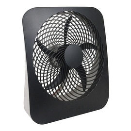 "O2-Cool FD10002A Portable Battery & Electric Power Fan, 10"", 2 Speed"