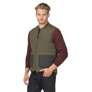 Tommy Hilfiger Middlebury Premium Reversible Down Puffer Vest Large L Green