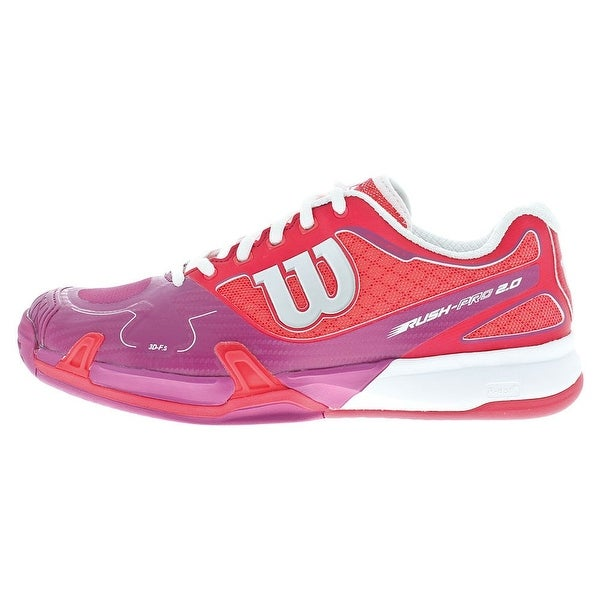 Wilson NEW Pink Shoes Size 5.5M Rush Pro 2.0 Tennis Athletic