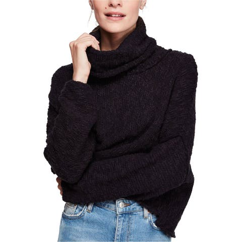 Free People Womens Big Easy Cowl Neck Pullover Sweater