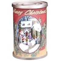 "5"" Retro Santa Claus Antique Christmas Can Decoration"