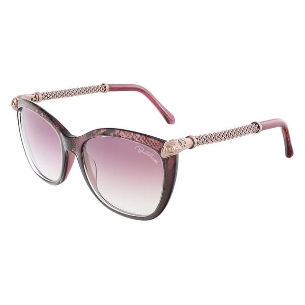 Roberto Cavalli RC978S/S 83Y TALITHA Violet Rose Gold Square sunglasses - 55-17-135