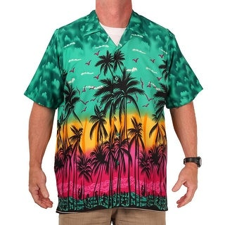 Island Shirtworks Men's Hawaiian Print Shirt