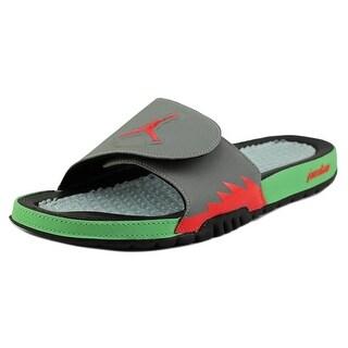 Jordan Hydro V Retro Open Toe Synthetic Slides Sandal
