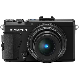 Olympus STYLUS XZ-2 iHS 12MP Black Digital Camera