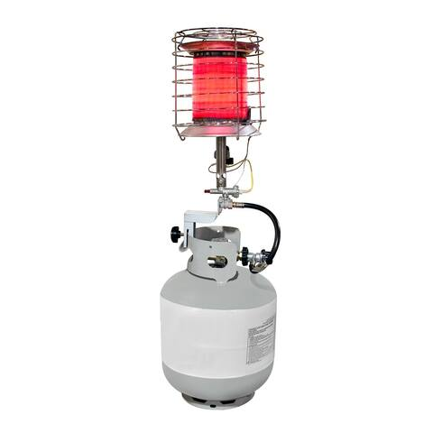 Dyna-Glo TT360DG Propane Powered 40,000-BTU 360-Degree Tank Top - Silver