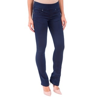 Lola Pull On Bootcut Jeans, Leah-OBLU