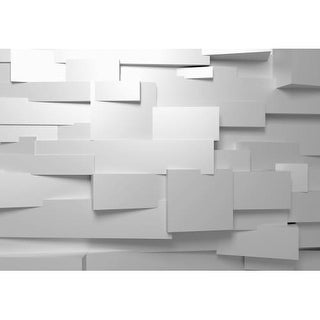"Brewster DM161 100"" x 144"" - 3D Effect - Unpasted Vinyl Coated Paper Mural - 8 Panels"