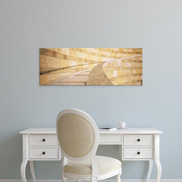 Easy Art Prints Panoramic Images's 'Low Angle View Of A Staircase, Staatsgalerie, Stuttgart, Germany' Canvas Art