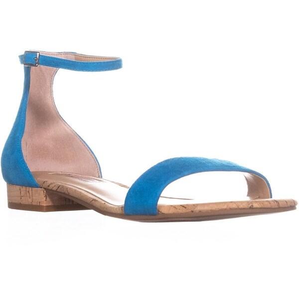 I35 Yaffa Open Toe Ankle Strap Sandals, Cali Teal - 6 us