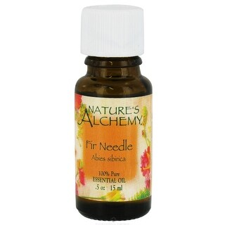 Nature's Alchemy Essential Oil Fir Needle 0.5-ounce