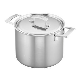 Link to Demeyere Industry 5-Ply 8-qt Stainless Steel Stock Pot - Stainless Steel Similar Items in Cookware