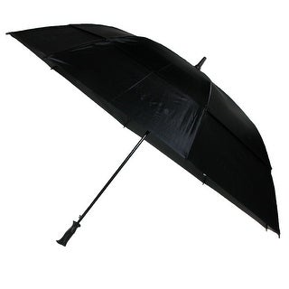 Totes Extra Large 67 Inch Vented Canopy Golf Umbrella - Black - One Size