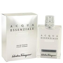 Acqua Essenziale Colonia by Salvatore Ferragamo Eau De Toilette Spray 3.4 oz - Men