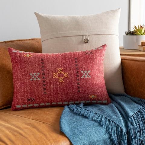Joellen Southwestern Print 13x20-inch Lumbar Throw Pillow