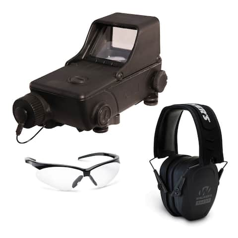 Mepro Tru-Dot RDS Red Dot Sight with Ears and Eyes Range Safety Bundle