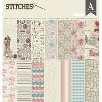 """Stitches - Authentique Collection Kit 12""""X12"""""""