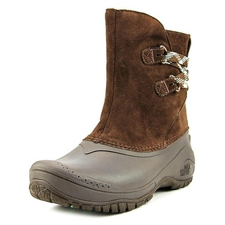 The North Face Shellista II Pull-On   Round Toe Leather  Winter Boot