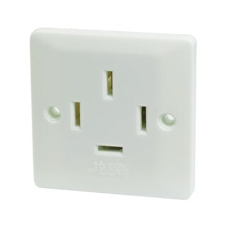 AC 440V 25A 4 Four Phase Four 4 Wire Wall Panel Plate Socket Power Outlet