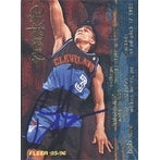 Bob Sura Cleveland Cavaliers 1996 Fleer Rookie Autographed Card Nice Card This item comes with a